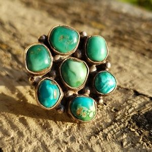 Turquoise Sterling Silver Native American Ring